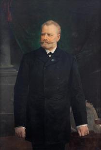 Podobizna bývalého starosty Vinohrad Jana Friedländera