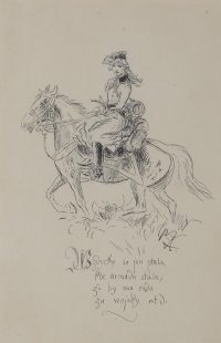 Dívka na koni