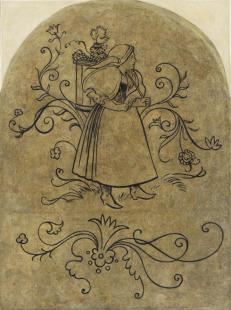 Vinobraní – dívka
