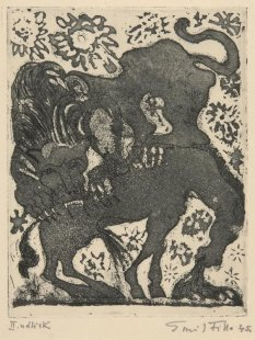 Torzo naděje - Lev a kůň