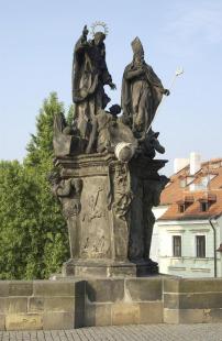 Sousoší Sv. Vincence Ferrerského a Sv. Prokopa