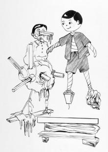 Posters (kreslím postavy od nohou)
